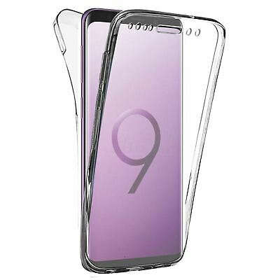 Coque Housse Etui 360° Silicone Integrale Pour SAMSUNG GALAXY S9 PLUS Protection
