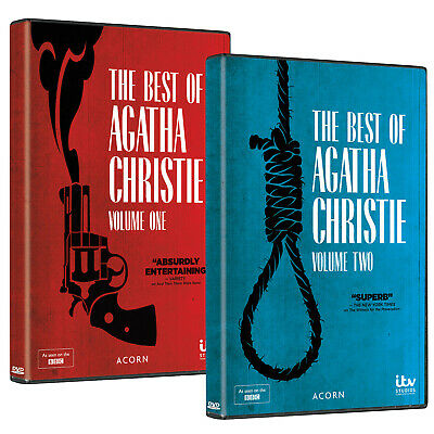 The Best of Agatha Christie: Volumes 1 & 2 DVD Boxed Set Region 1 (US & Canada)