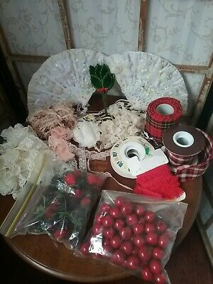 Vintage Millinery and Craft Lot