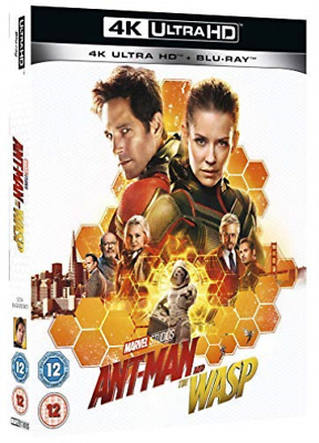 Ant Man & The Wasp BLU-RAY NEW