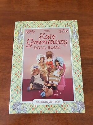 The Kate Greenaway Doll Book by Valerie Janitch ~ HC/DJ 1st Edition