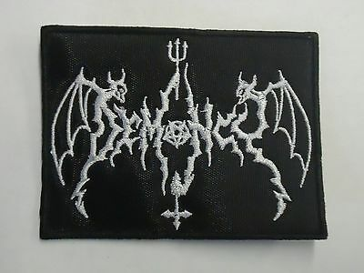 Demoncy Black Metal Embroidered Patch