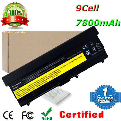 6.6A Batterie pour Lenovo ThinkPad T410 T420 T510 T520 W510 W520 Laptop 9 Cell