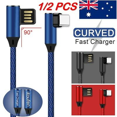 GENUINE Samsung S10 S9 Plus Note 9 8 Type-C USB Sync Charger Charging Fast Cable