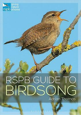 Rspb Guide to Birdsong by Adrian Thomas Paperback Book Free Shipping!