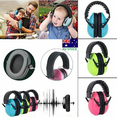 Safety Baby Kids Earmuffs Ear Hearing Protection Noise Cancelling Headphone AU