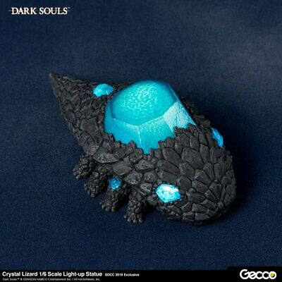 Sentinel 46685GC Gecco 1/6 DARK SOULS Crystal Lizard With LED Statue New TSK CA