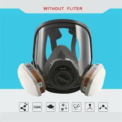 7pcs 3M 6800+6004 Full Facepiece Spray Painting Large Respirator Mask Protection