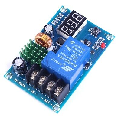 DC 6V-60V Programmable Digital Battery Charge Controller Protection Switch S6L1