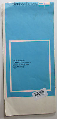 1974 old vintage OS Ordnance Survey 1:25000 First Series Map SD 95 Skipton
