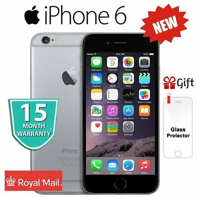 New Apple iPhone 6 64GB Space Grey Factory Unlocked Sim Free Mobile Smartphone