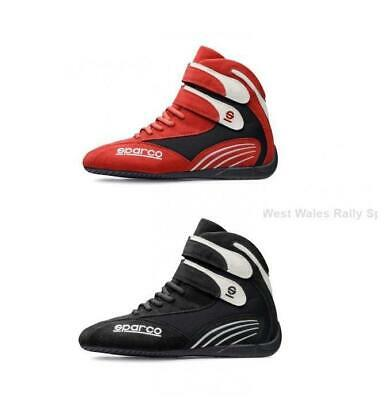 Sparco K Pro Adult Kart Boots -Black or Red- Clearance