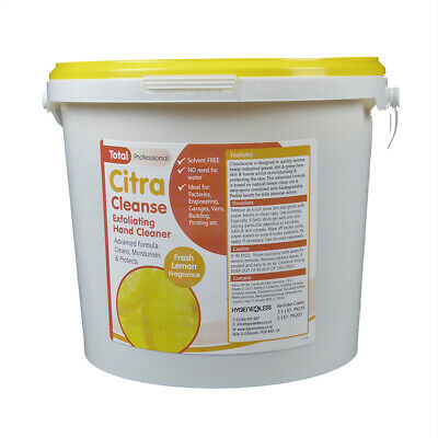 4 x 5L Citra Cleanse Industrial Hand Cleaner