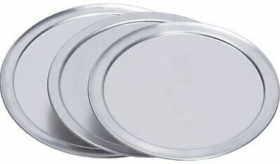 8″ Aluminum Pizza Pan Stacking Cover/Lock Lids (pack of 10)
