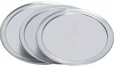 9″ Aluminum Pizza Pan Stacking Cover/Lock Lids (pack of 10)