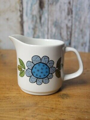 Mid Century Vintage Retro 1960s Meakin Topic Small Milk Cream Jug Studio Pottery