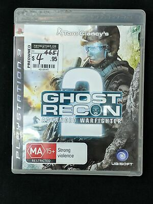 Tom Clancys Ghost Recon 3 Advanced Warfighter 2 - Playstation 3 Like new (C)