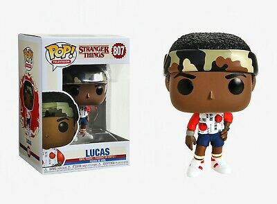 Funko Pop Television: Stranger Things - Lucas Vinyl Figure Item #38530