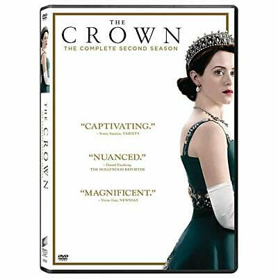 The Crown - Complete Season 2 [Dvd] 1D - New & Sealed