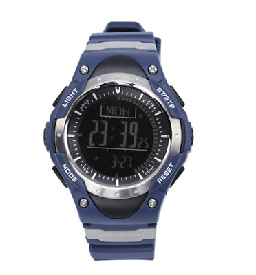 SUNROAD FR826B Outdoor Hiking Sports Watch Compass Barometer Altimeter Pedometer