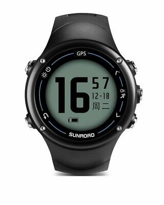 SUNROAD Smart GPS Heart Rate monitoring Digital Watch with bluetooth connection