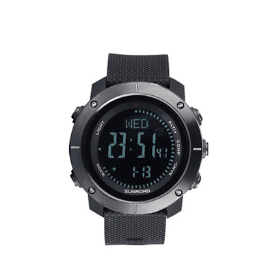 SUNROAD Traveling Outdoor sports watch w/ Pedometer Altimeter Barometer function