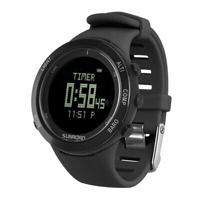SUNROAD Outdoor Sports Watch Heart Rate Monitor Altimeter Barometer Thermometer