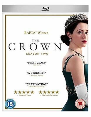 The Crown -  Complete Season 2 [Bluray] New & Sealed