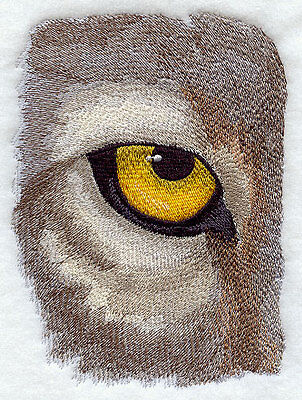 "Wolf Eye, Wild Animal, Wolves Embroidered Patch 5.6""x7.8"""