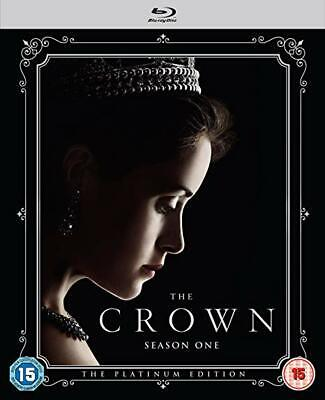 The Crown -Complete Season 1 (Platinum Collectors Edition) [Bluray] New & Sealed