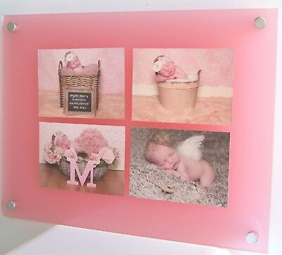 """7 x 5"""" Multi picture photo frame  5 x 7 ALL COLOURS Cheshire Acrylic high gloss"""
