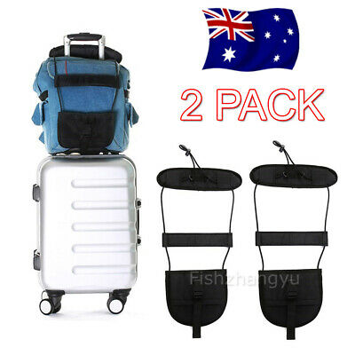 Travel Luggage Suitcase Adjustable Tape Belt Add A Bag Strap Carry On Bungee NEW