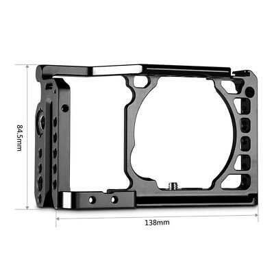 SmallRig Cage for Sony A6300 A6500 Camera Aluminum Cage with Built-in Arca Plate