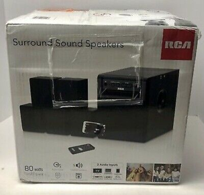 RCA 5.1 Channel Home Theater Surround Sound System RT151