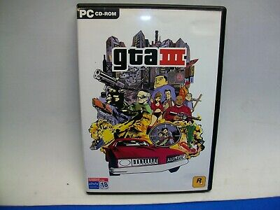 GRAND THEFT AUTO 3 GTA3 de ROCKSTAR GAMES JUEGO para PC