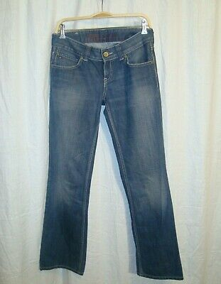 9f065958 Ladies TOMMY HILFIGER DENIM SALLY Slate Waxed blue jeans W28 L32 great co