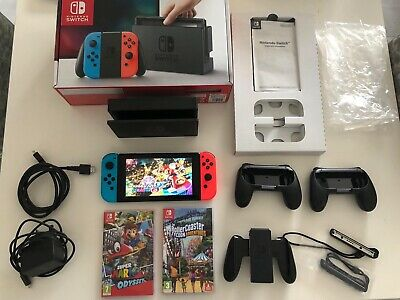 NINTENDO SWITCH - 32 Gb - Console only - 2016 - Not Nintendo patched