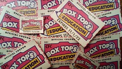 60 Box Tops for Education, BTFE, all neatly clipped, none expired, Fast shipping
