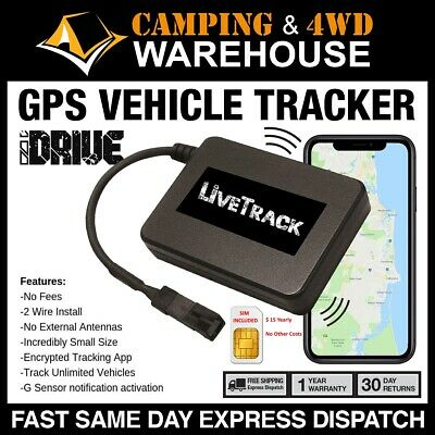 LiveTrack  4G GPS Tracking Device Vehicle Tracker Car Boat Bike Caravan Truck