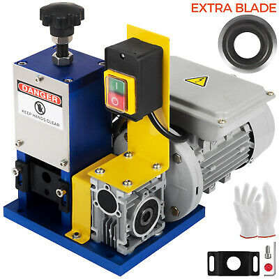 Electric Wire Stripping Machine With Extra Blade Portable Cable Stripper Durable