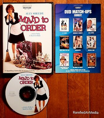 MAID TO ORDER (DVD, 2002) starring Ally Sheedy *RARE* OOP FREE SHIPPING