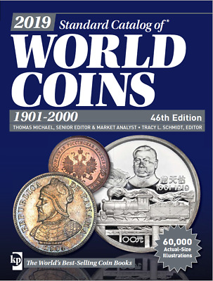 2019 NEW Krause Standard Catalog of World Coins 2019: 1901-2000 NUMISMATIC PDF
