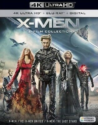X-Men Trilogy 3-Film Collection (Blu-ray + 4K UHD) BRAND NEW!! X-Men 1 2 3