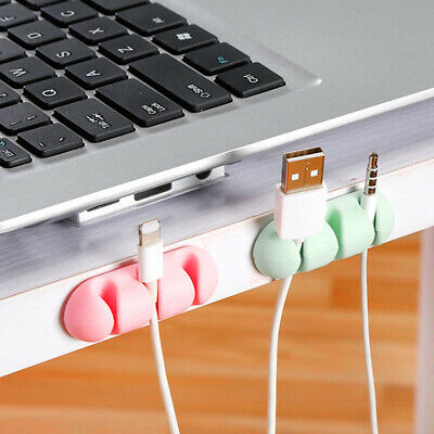0ECE Wire Clips Multipurpose Portable Office Holder Home Management TRD 7pcs
