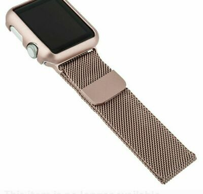 info for 1a8c0 1325b BLACKWEB REPLACEMENT BAND w/ Magnetic Clasp for Apple Watch 38mm ...