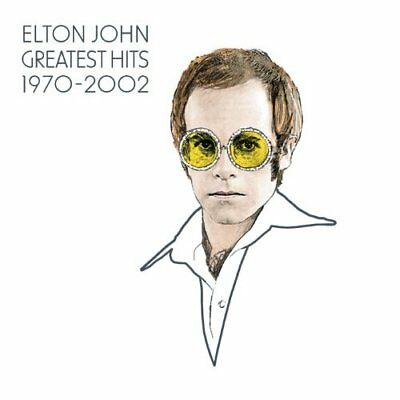 Elton John - (1970-2002) The Greatest Hits 2 Discs Classic, Rock Genres Audio CD