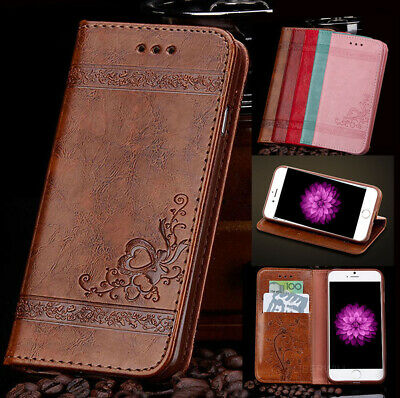 For Apple iPhone 5 5S / SE Wallet Leather Magnetic Case Flip Stand Phone Cover
