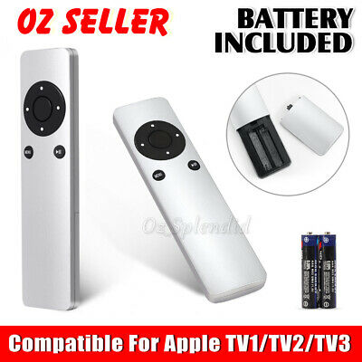 Upgraded Replacement Universal Infrared Remote Control For Apple TV1/TV2/TV3 AU