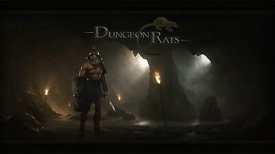 Dungeon Rats Steam Digital Key PC, Region-Free, RPG ☁Fast Delivery☁