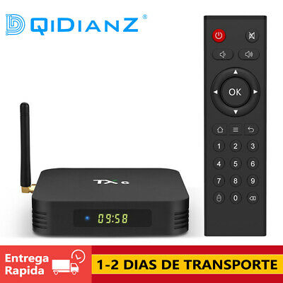 DQiDianZ TX6 Android 9.0 16GB 32GB 64GB Quad Core BT 4.1 Smart TV BOX TV CAJA